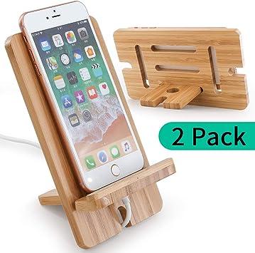 Soporte para tableta para teléfono celular, Pack Paquete de 2 Do ...
