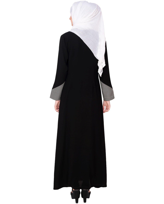 Modest Forever Classic Black Coat Abaya by modestforever (Image #4)