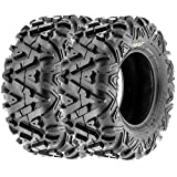 SunF All Trail A/T ATV UTV Tires 26x10-12 26x10x12 6 PR A033 (Set pair of 2)