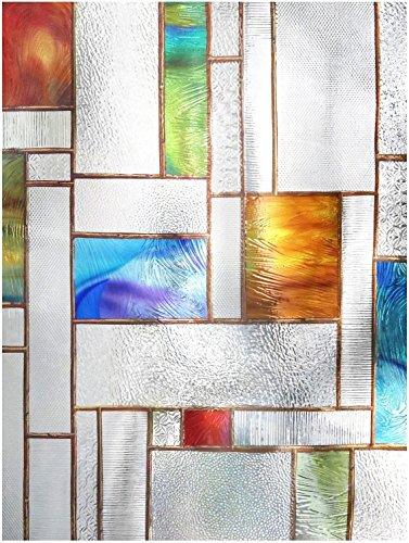 "Artscape Artscape 02-3606 24"" X 36"" Melange Decorative Window Film price tips cheap"