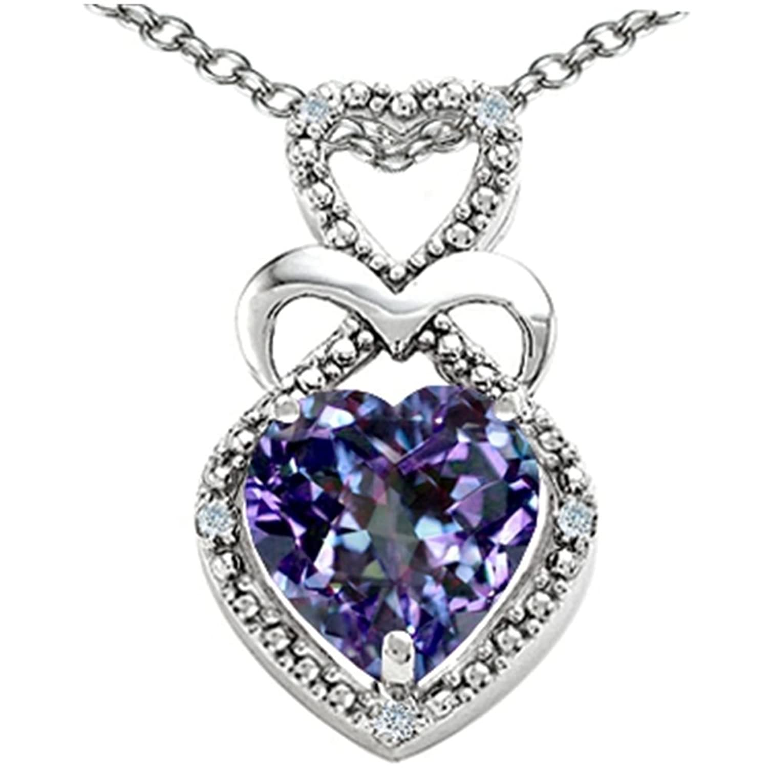 jeweler ben pendant jewelry diamond trilliant amethyst bridge necklace alexandrite