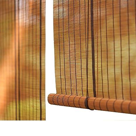 Tingting Fensterladen Bambus Roll Up Jalousien Interne