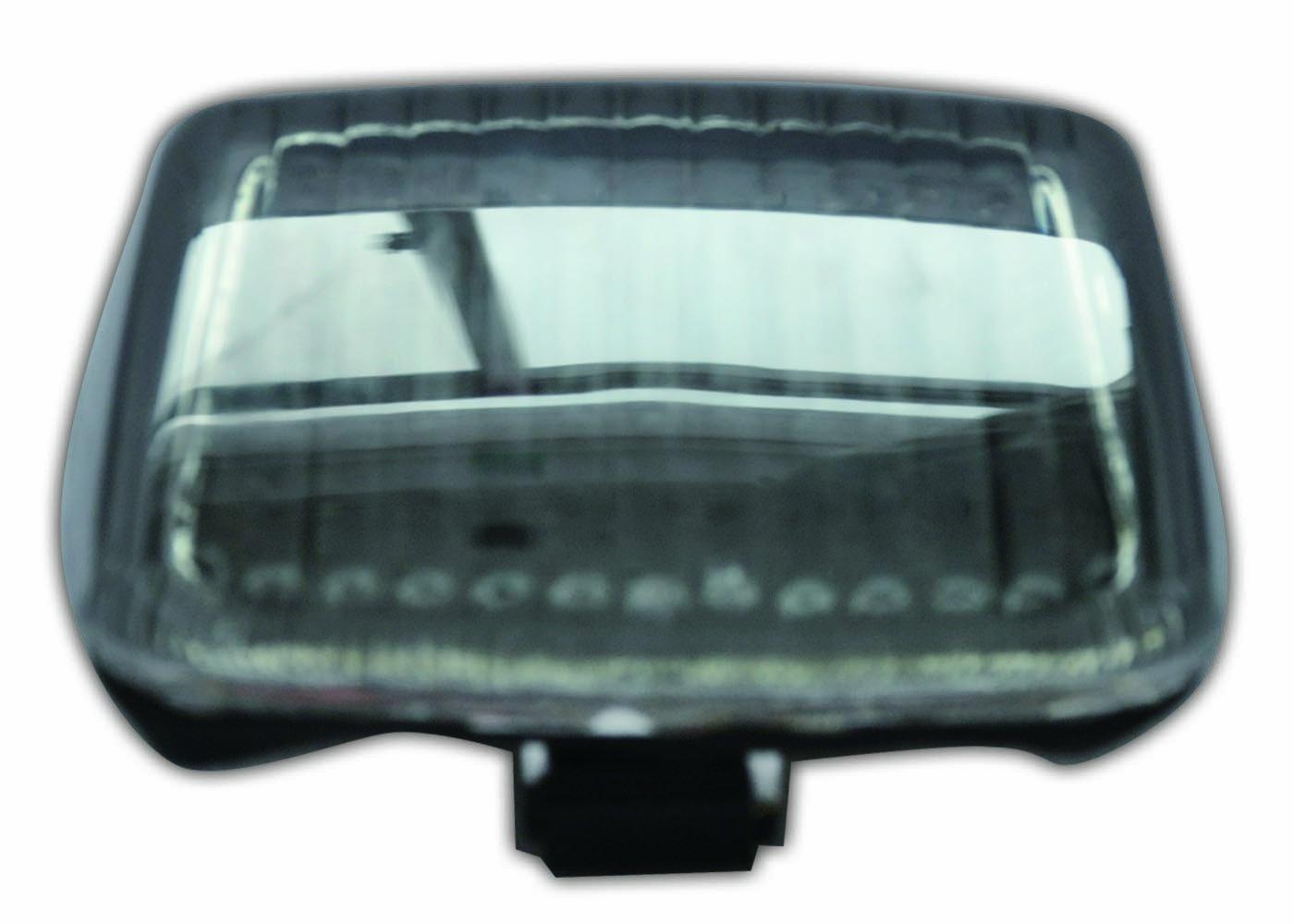 TZHD-114-INT-S Smoke Integrated Tail Light Top Zone