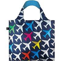 LOQI LQB1-AIAI Airport Airplane Shopping Bag, Airplane, L Capacity
