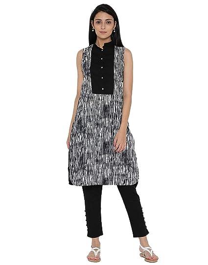 2ce088f42e Amazon.com: Desi Fusion Women Indian Casual Long Tunic Straight ...
