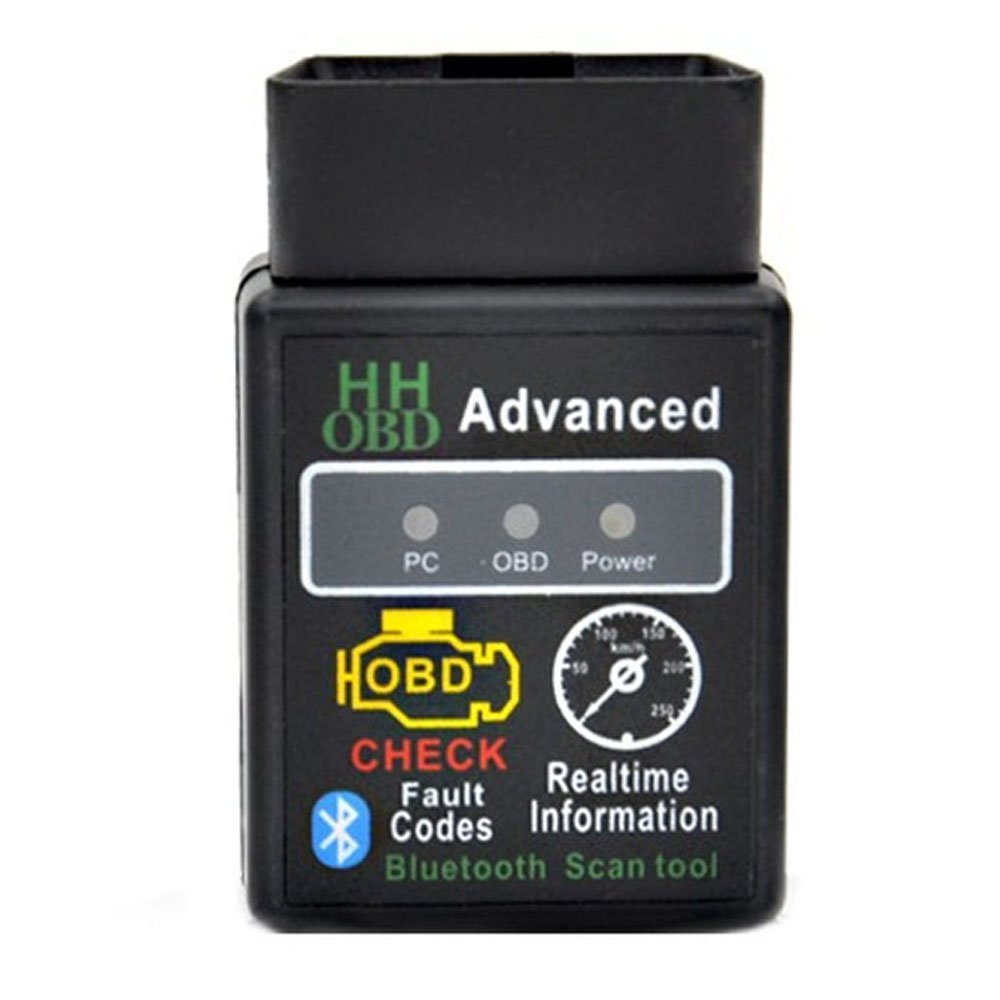 V1.5 Mini ELM327 Bluetooth HHOBD OBDII Car Scan Tool for Android Devices OEM 327-HH