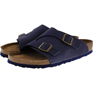 d2b149d7d5770 Image Unavailable. Image not available for. Color  Birkenstock Zürich  Nubuck Leather Soft-Footbed Regular ...