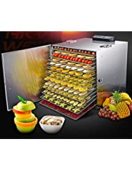 Fruit Vegetable Food Pet Food Drying Machine 110V 16 Layers DIY Machine 239319