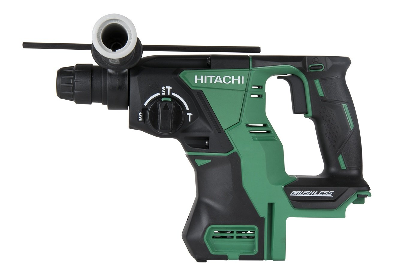 """Hitachi DH18DBLP4 18-Volt Lithium Ion Cordless Brushless SDS Plus 1"""" Rotary Hammer (Tool Only, No Battery)"""