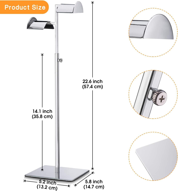 Pack Details about  /Polmart Countertop Adjustable Handbag Display Stand 5