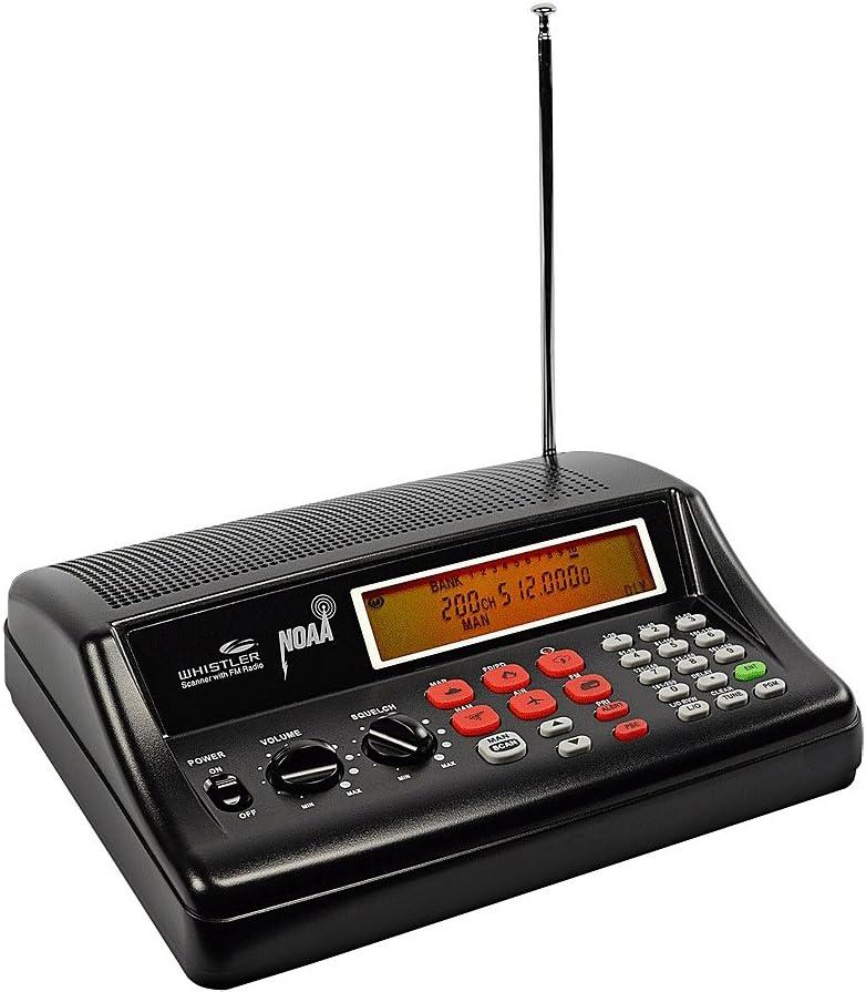 Whistler WS1025 Analog Desktop Radio Scanners