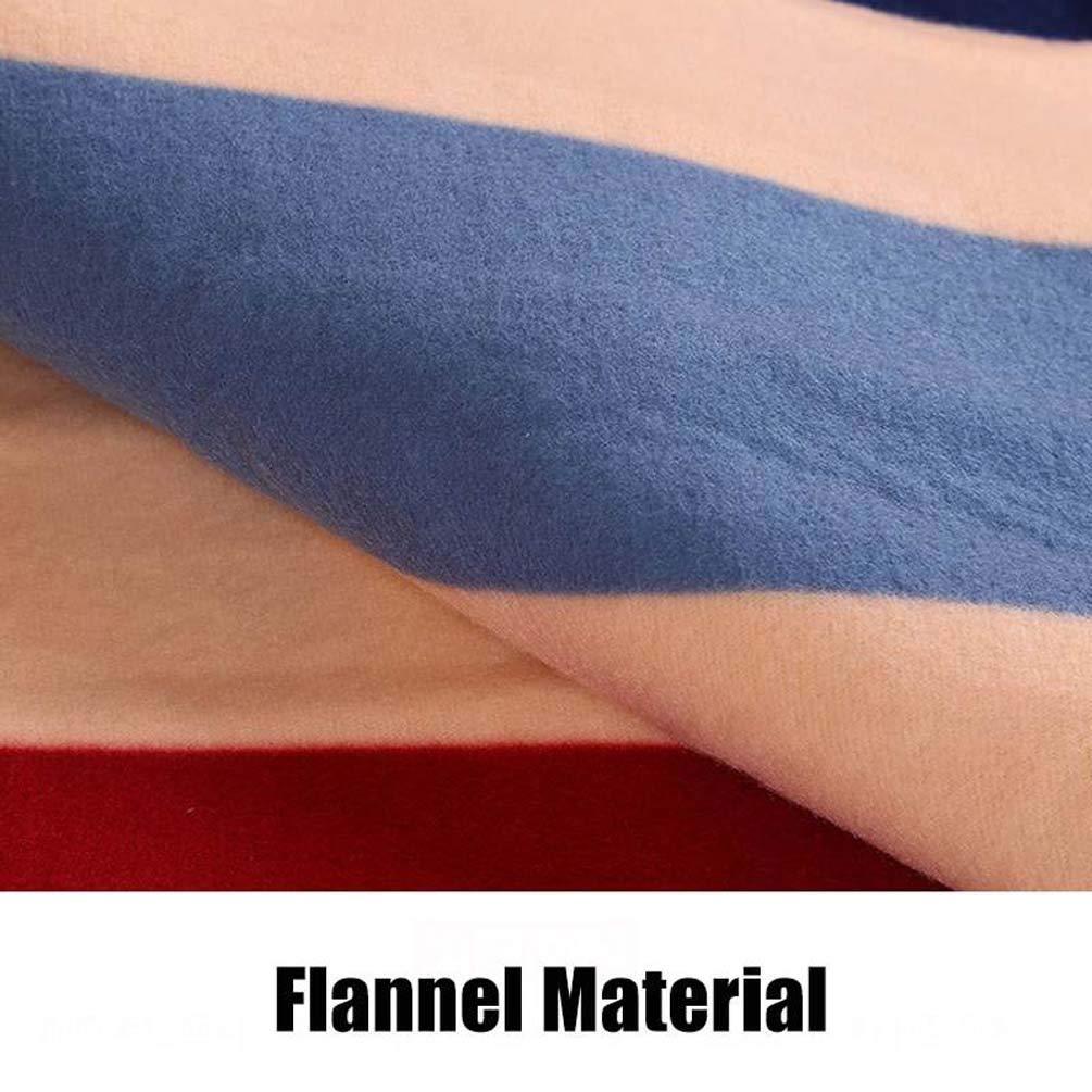 150 cm Size : A 180cm termostato Ajustable Manta de calefacci/ón Manta Maksieas Hogar de Franela Calentador de Manta 180 200