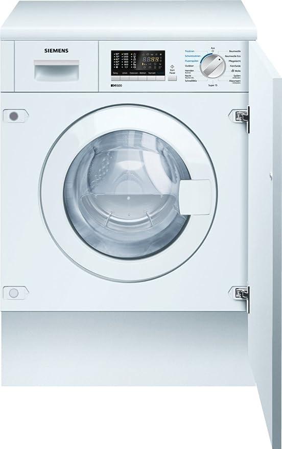Siemens WK14D541 Integrado Carga frontal B lavadora - Lavadora ...