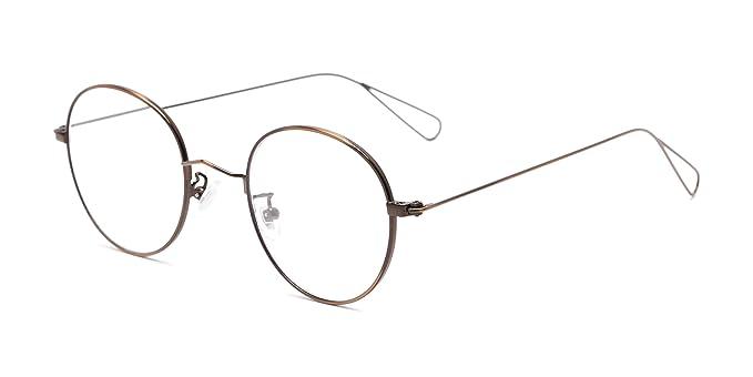 a72b7735b42b Amazon.com  The Alchemy +1.00 Bronze Reading Glasses  Clothing