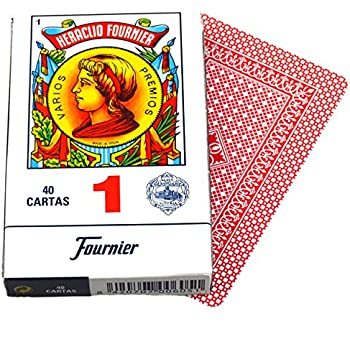 Amazon.com: Heraclio Fournier No. 1 Spanish 2 Deck Set Blue ...