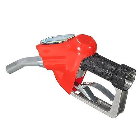 FLAMEER Dispensador De Boquilla De De Suministro Diesel De Gasolina Con Medidor De Flujo 1 NPT: Amazon.es: Bricolaje y herramientas