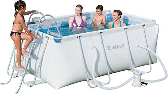 Piscina tubular bestway 2,87 x 2,01 x 1,00m 56249: Amazon.es ...
