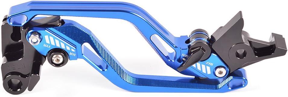 THRUXTON R 2016-2018 ; 765 Street Triple R Tencasi Blau CNC Kurz Rhombus Hohl Bremshebel Kupplungshebel Set f/ür Triumph SPEED TRIPLE R 1050//S NOT RS 2017-2018
