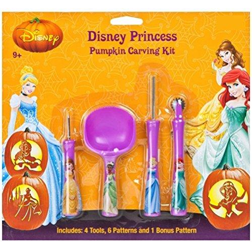 Princess Pumpkin Carving Patterns (Disney Princess Pumpkin Carving Kit by Disney)