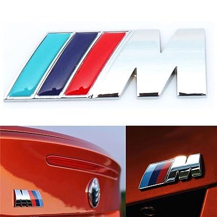 Bmw M Tech Sport 3d Chrome Vehicle Emblem Badge Logo Decal Bumper