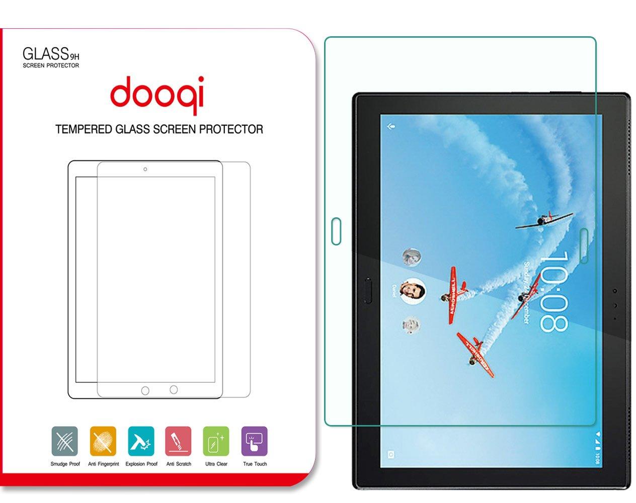 Dooqi Premium Tempered Glass Screen Protector Saver for Lenovo Tab 4 10