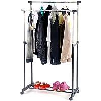 Elbise Askısı Ayaklı Metal Askılık Kıyafet Askısı 6008