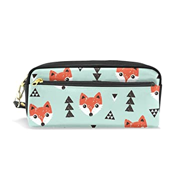 Ahomy Estuches para Niñas y Niños, Fox Head Pen Bag ...