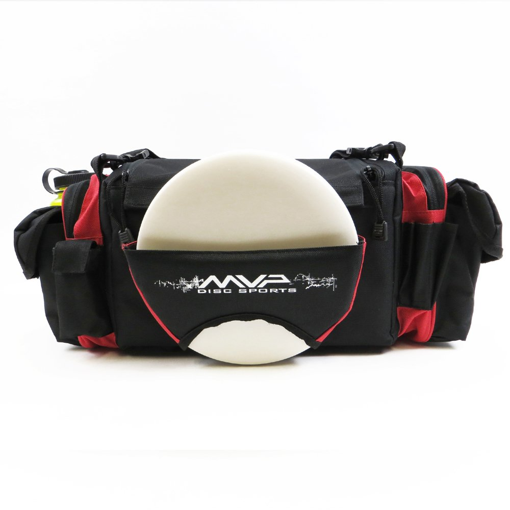 MVP Nucleus Tournament Disc Golf Bag - Red by MVP Disc Sports
