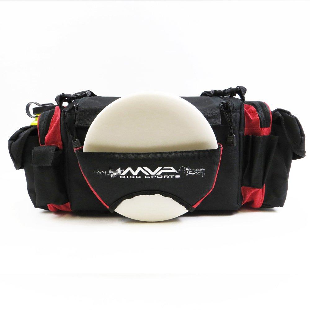 MVP Nucleus Tournament Disc Golf Bag - Red