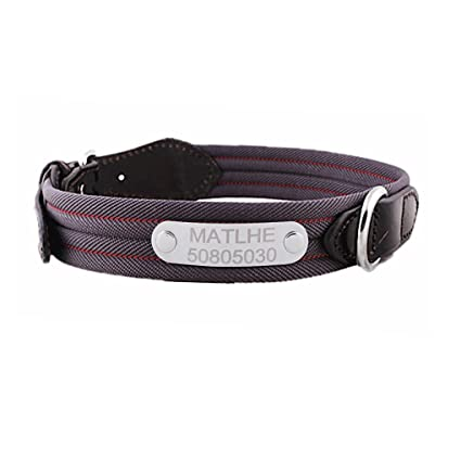 Amazon.com   Personalized Custom Engraved Pet Dog Collars f4beb7d8f74