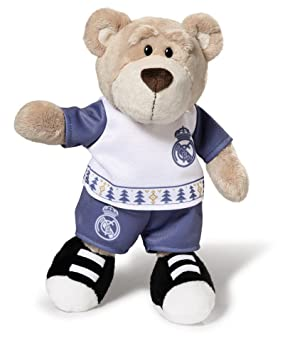 8ebefd13798 Nici 16754 Real Madrid Plush Bear with Christmas Outfits: Amazon.co.uk:  Toys & Games