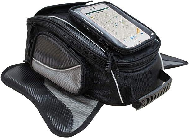 Magnetic Motorcycle Tank Bag Wasserdichte Oxford Schwarz Motorrad Tasche Reise Outdoor Sporttasche Gepäck Starke Magnetische Tasche Universal Für Die Meisten Motorräder Dracarys Auto