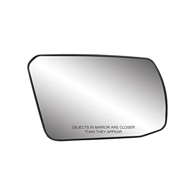 Fit System 80214 Nissan Altima 2.5L Engine Coupe/Sedan Right Side Power Non-Foldaway Replacement Mirror Glass with Backing Plate: Automotive [5Bkhe2011846]