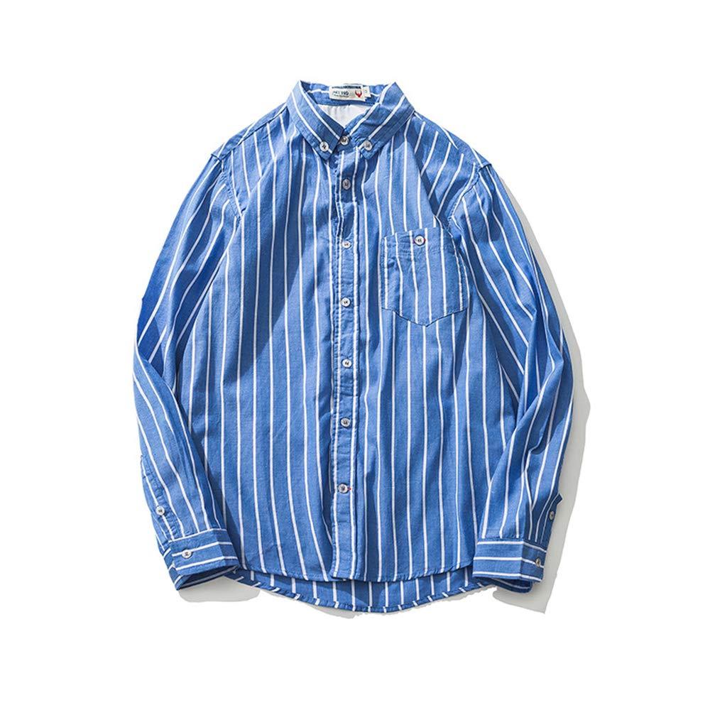 TYLI Mens Shirt Large Size High Waist Short Sleeve Mens Casual Shirt Work Shirt