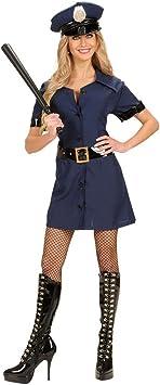 Disfraz de mujer policía traje azul L 42/44 Policía paquimetrera de ...