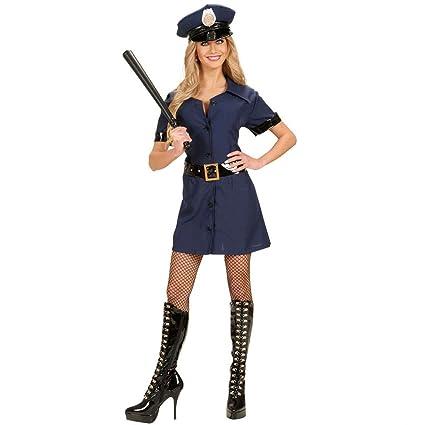 Disfraz de mujer policía traje azul L 42/44 Policía ...