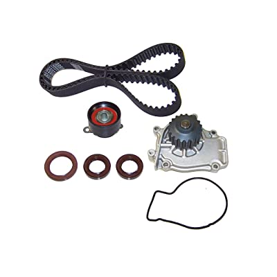 DNJ TBK209WP Timing Belt Kit with Water Pump for 1988-1991 / Honda/Prelude / 2.0L, 2.1L / DOHC / L4 / 16V / 1958cc, 2056cc / B20A5, B21A1: Automotive