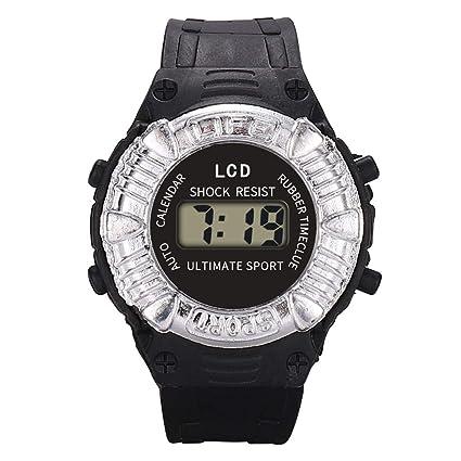 7b92c067b Amazon.com: SFE Children Girls Analog Digital Sport LED Electronic  Waterproof Wrist Watch New: Sports & Outdoors