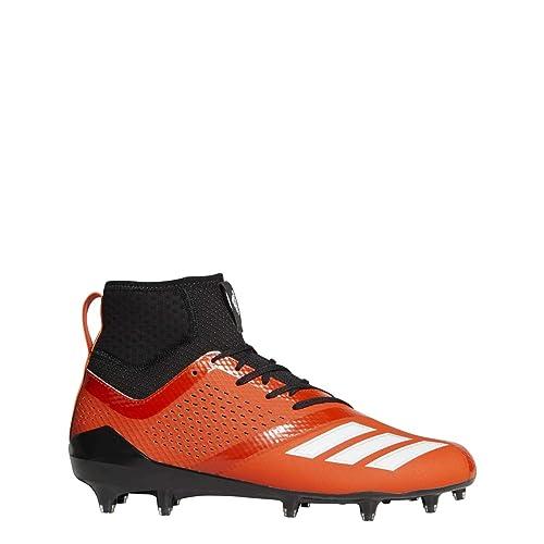 size 40 49770 17474 adidas Adizero 5-Star 7.0 SK Cleat - Mens Football 11 Collegiate Orange White