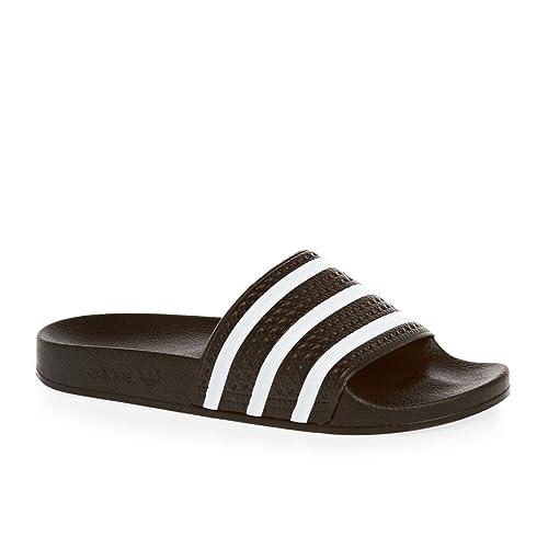 Adidas Glisse Piscine Adilette - Blanc 5tN5Qw1OM