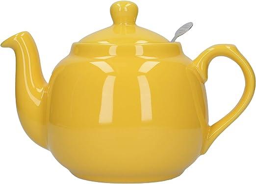 London Pottery - Tetera con infusor, cerámica, 4 Tazas, 1 litro ...