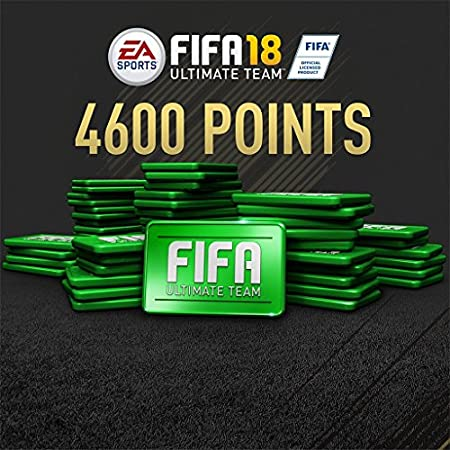 FIFA 18 - 4600 FIFA POINTS - PS4 [Digital Code]