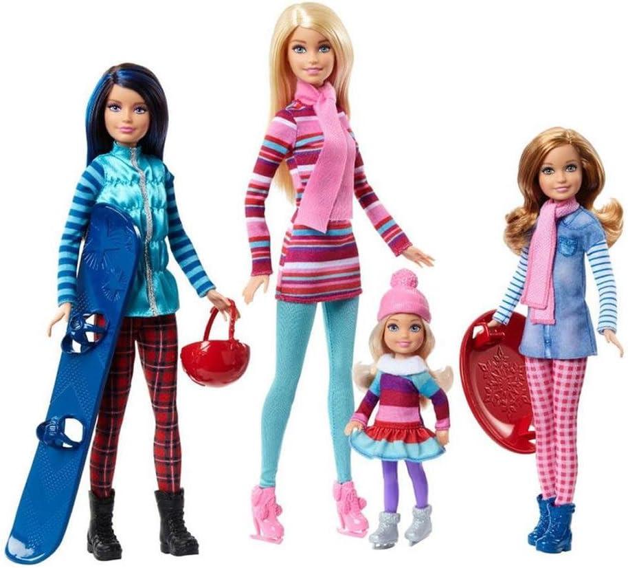 Amazon.es: Barbie and Sisters - Invierno: Juguetes y juegos