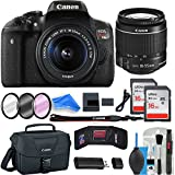 Cheap Canon Rebel T6i Digital SLR Camera DigitalAndMore Creator ESSENTIAL Starter Bundle