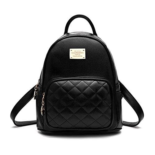 eeb291b41 Amazon.com: GTESCO Mini Backpacks Purse for Teen Girls Cute Leather  Waterproof Small Fashion Designer Backpack for Women Black (Black-Bunny  Ears): Shoes