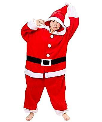 86170b3a0d7b zorabridal santa claus cosplay adult unisex onesies pajamas christmas  costume small