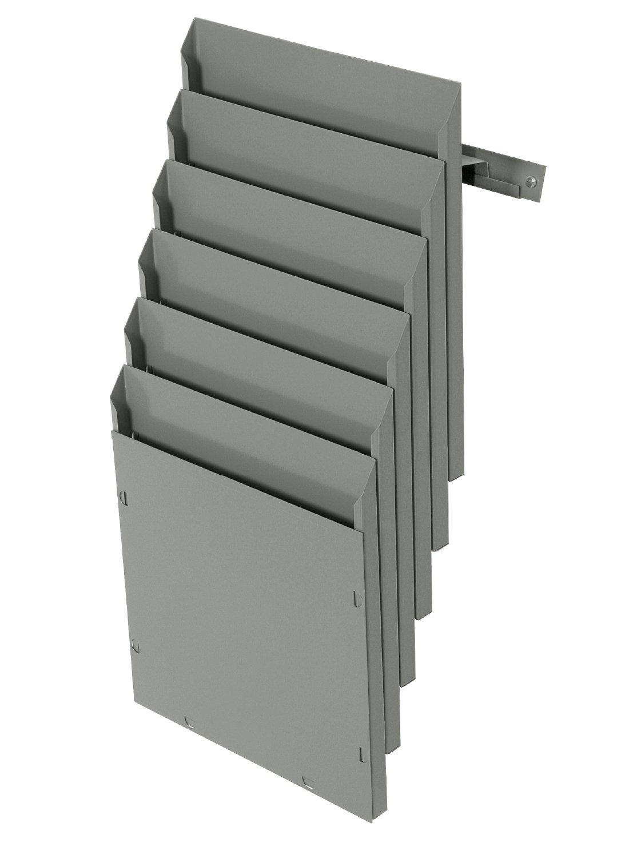 Expositor metálico de pared A5V Sistemas 6 departamentos - Sistemas A5V David 3b61ff