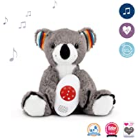 Zazu Coco The Koala Musical Soft Toy with Heartbeat Sound Machine Sleep Soother
