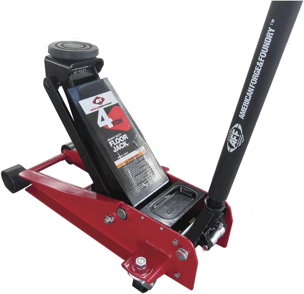 Amazon Com Aff 4 Ton Heavy Duty Floor Jack With Twin Hydraulic System 400ss Automotive