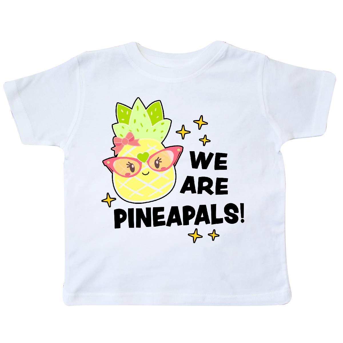 inktastic We are Pineapals with Cute Pineapple Friend Toddler T-Shirt